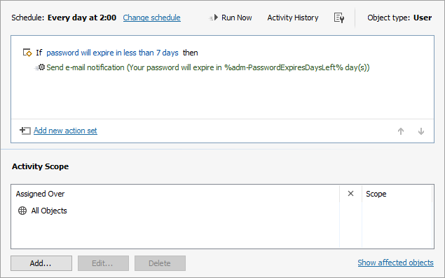 Active Directory: Password Expiration Notifications