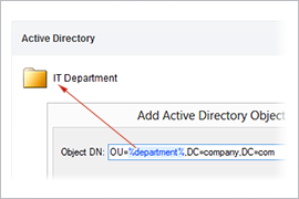 Refined Active Directory Pane